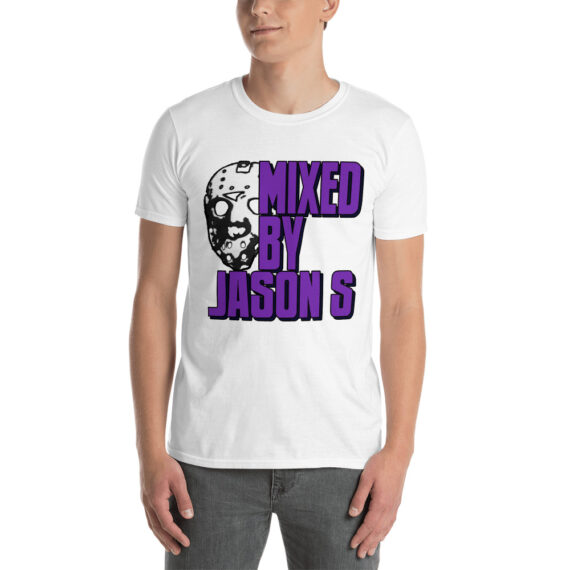 Mixed by Jason S Short-Sleeve Unisex T-Shirt White Black & Grey