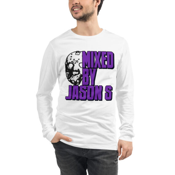 Mixed by Jason S Long Sleeve T-Shirt Black & White