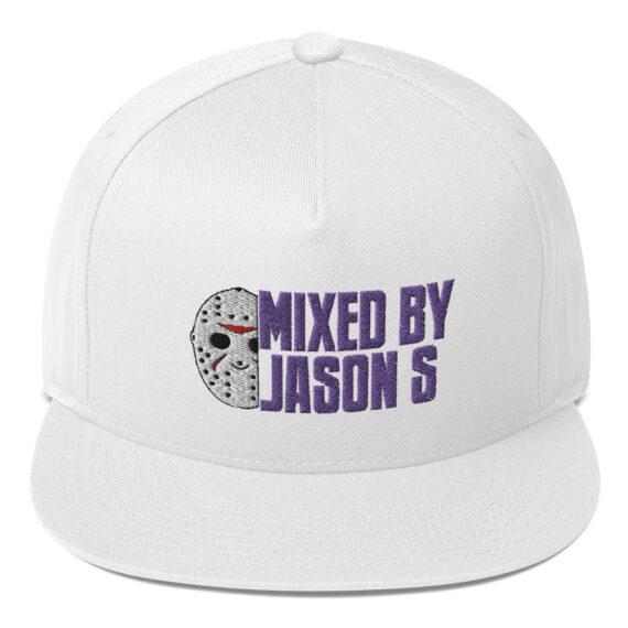 Mixed by Jason S Snapback Flat Bill Cap