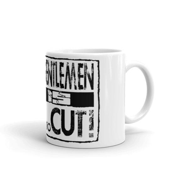 It is Time to Cut Coffee Mug