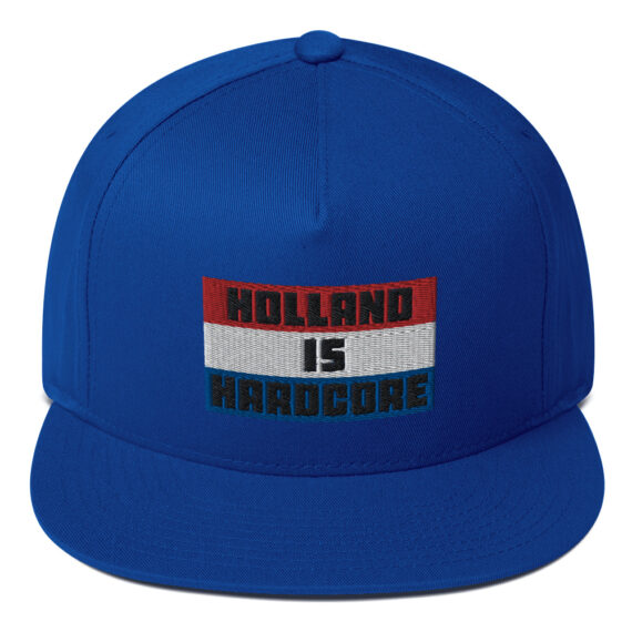 Holland is Hardcore Snapback Flat Bill Cap