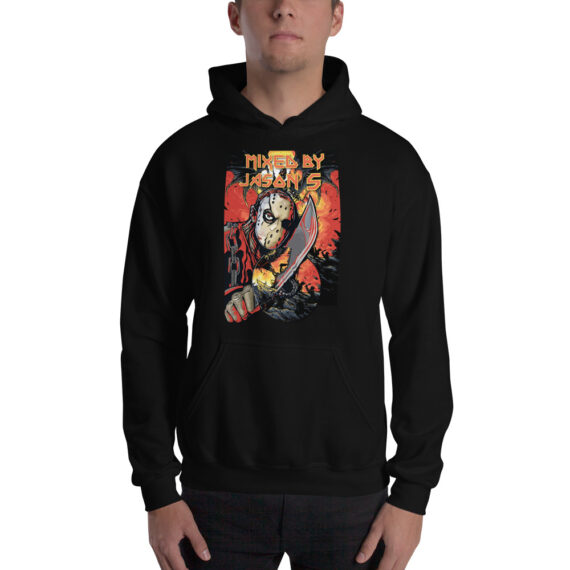 Mixed by Jason S CD on Knife Unisex Hoodie Black